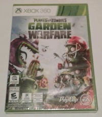 Xbox 360 Plants vs Zombies Video Game Port Coquitlam, V3B 7G7