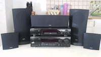 Philips Dvd player 5+1 surround home cinema ses sistemi