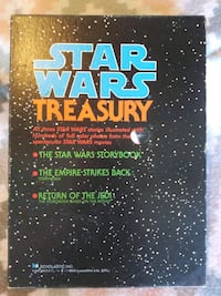Vintage 1983 Star Wars Treasury Storybooks by Scho