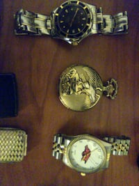 two silver and gold analog watches Cotati, 94931