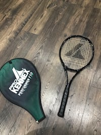 Black and green tennis racket Brampton, L6W 2J7