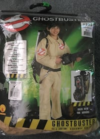 Ghostbusters Costume (Boys Size 8-10) Oil City, 16301