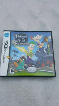 Phineas and ferb across 2nd dimension Nintendo ds
