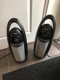 Sunbeam space heater (set of 2) Mississauga, L5E 0A6