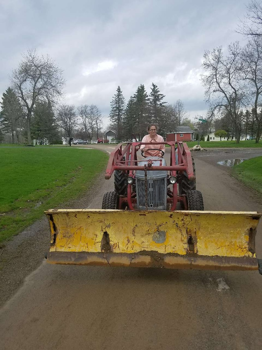 Ford 8n Frame : Used ford n with loader frame and plow in erie