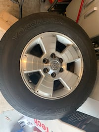 Set of 4 Toyota 4Runner Tacoma wheels with tires Gainesville