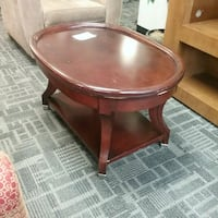"Oval coffee table W36"" D26"" H21""  Oakville, L6L 5N1"