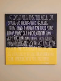 Canvas wall decor - C.S. Lewis Quote  Leawood, 66209