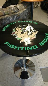 Fighting Sioux pub table. Horace, 58047