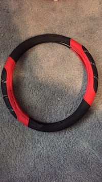 red and black steering wheel cover Hamilton, L0R 1T0