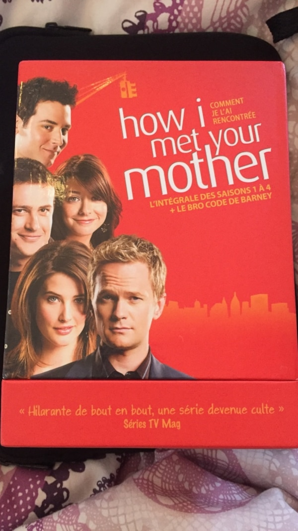 Coffret How I Met your mother - Saisons 1,2,3,4