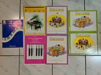 Beginner to Level 3 Piano Books Mississauga, L5M 4S9