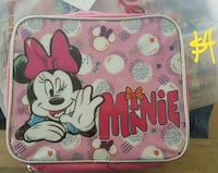 New minnie lunch bag