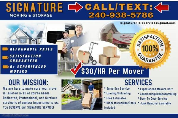 Signature movers (Best Prices)