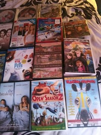 51 dvds videos movies blueray childrens $1.00 each must buy all 51  Las Vegas, 89101