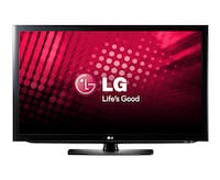 black LG flat screen TV Winnipeg