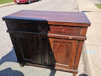 A very solid Real Wood cabinet