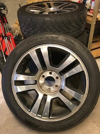 4 summer tires with rims Ford 150