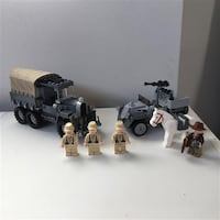 Lego Indiana Jones Race for the Stolen Treasure #7622