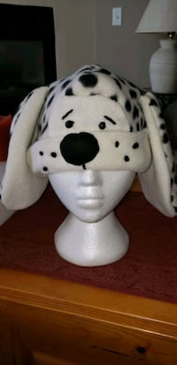 Winter Hat. Cute Dalmatian spotted felt hat. Surrey, V3W 5J9