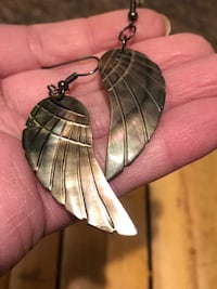 Shell Wing Earrings Toronto, M9N 3L4