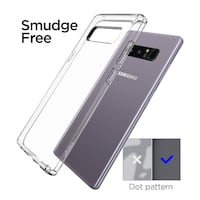 Gel Clear case for Note 8 Winnipeg
