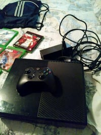 black Xbox One console with controller and game ca Hartford, 06114