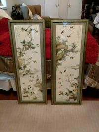 two painting of birds with frames Hamlet, 28345