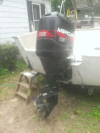Boat with trailer included great deal Providence County, 02830