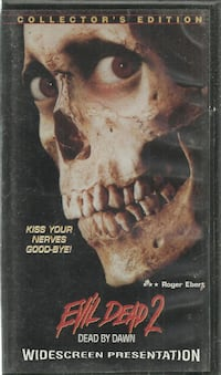VHS Anchor Bay VHS Evil Dead 2  Dead by Dawn 1987 Horror Comedy Cult Bruce Campbell very good condition Newmarket