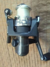 gray and black fishing reel Victoria, V9A