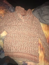 Brown knitted sweater 260 mi