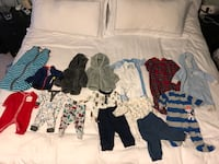 Newborn-3 Month baby boy winter clothes Burnaby, V5A