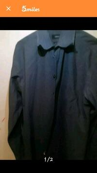 gray button-up long-sleeved shirt Medford, 97501