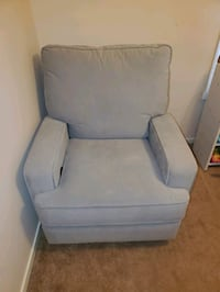 Swivel rocking and reclining chair