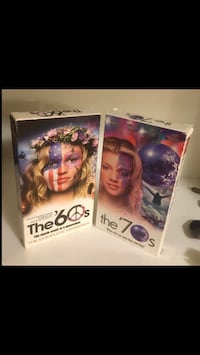 The 60's and 70's two part series VHS. Both for $2 Dartmouth, B2X 1H7