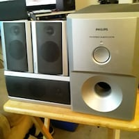 Toshiba speakers with Phillips subwoofer
