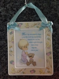 Brand new precious moments prayer wall decor  Toronto, M8Z 3Z7