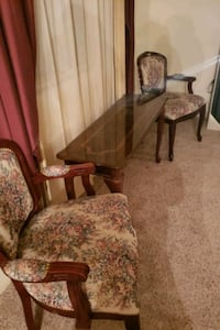 Victorian Cherry wood table and chairs Fontana, 92337