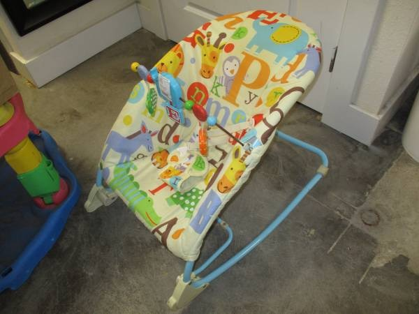 Remarkable Rocker Infant To Toddler Seat Chair Baby Toy Bar Vibration Onthecornerstone Fun Painted Chair Ideas Images Onthecornerstoneorg