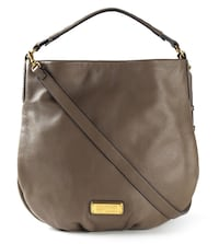 Authentic MARC BY MARC JACOBS 'New Q Hillier Hobo' tote IN TAUPE GREY Toronto