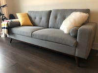 Modern Gray Couch from Urban Barn Toronto, M2N 4S8