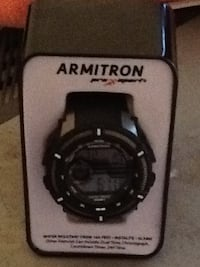 Black ARMITRON digital watch set brand new never been used $61 bucks and pick up only Los Angeles, 91325