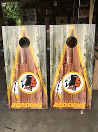 Redskins Cornhole set York, 17408