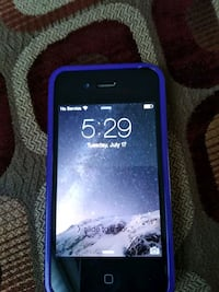 black iPhone 5 with purple case San Bruno, 94066