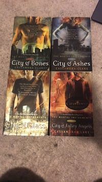 The mortal instruments books 1-4 St Catharines, L2T