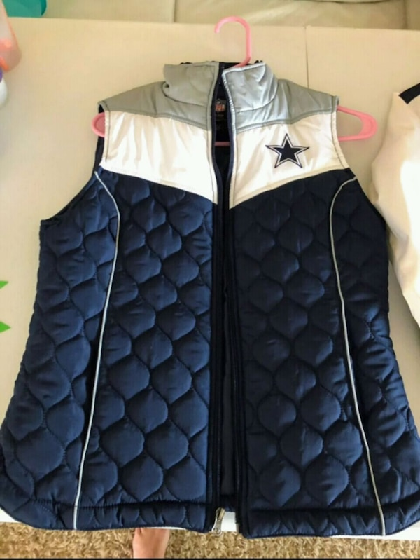 various colors 35c8e 8a596 Ladies Dallas Cowboys Puffer Vest