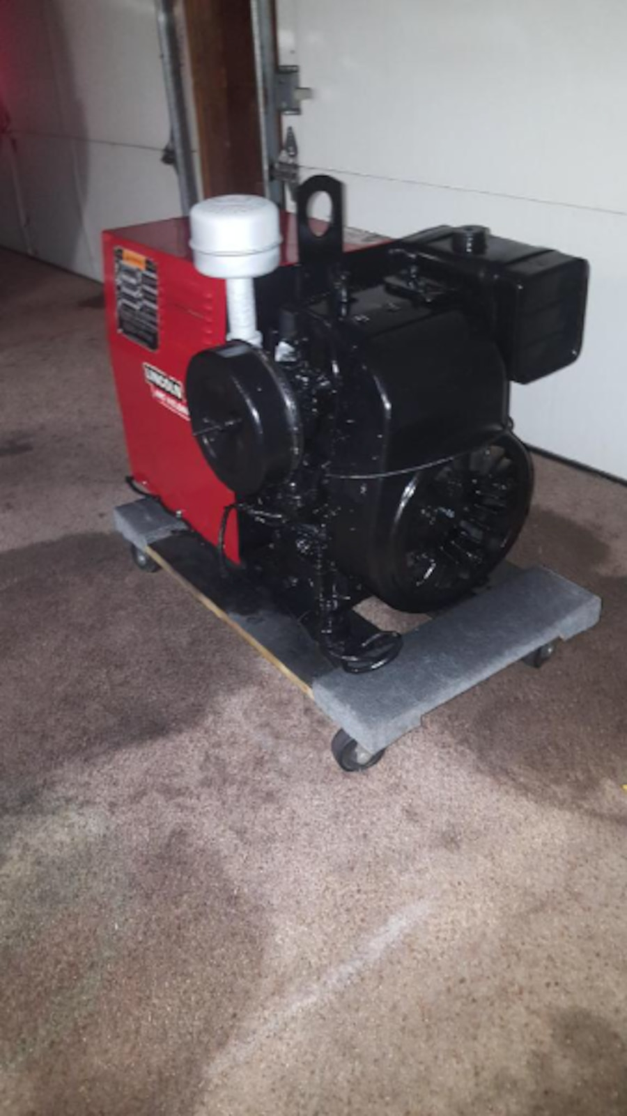 Used Lincoln Arc Stick Welder With Kohler Generator In Los Alamitos
