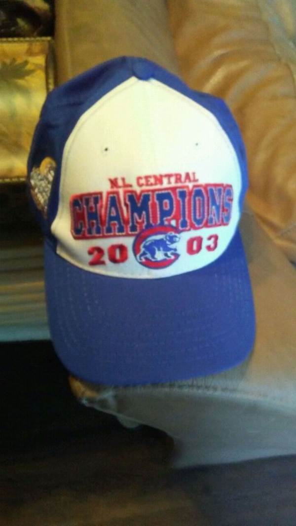 91423efbd90 Used Cubs championship cap for sale in Glendale Heights - letgo