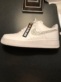 Air Force 1 just do it white clear  Mississauga, L5M 5X8